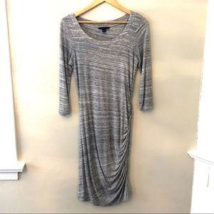 Banana Republic super soft gray dress